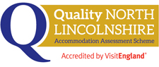 Quality North Lincolnshire - accredited by VisitEngland